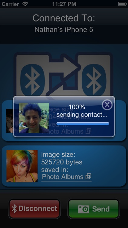Bluetooth Photo Share Pro screenshot-1