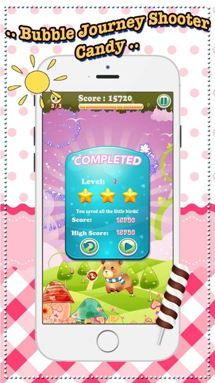 Bubble Journey Shooter Candy screenshot-3