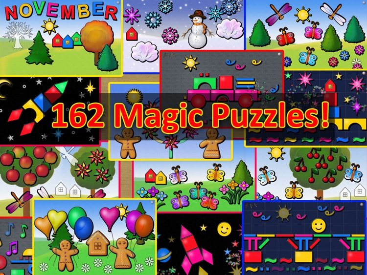 Animated Toy Shape Puzzles for PreSchool Kids