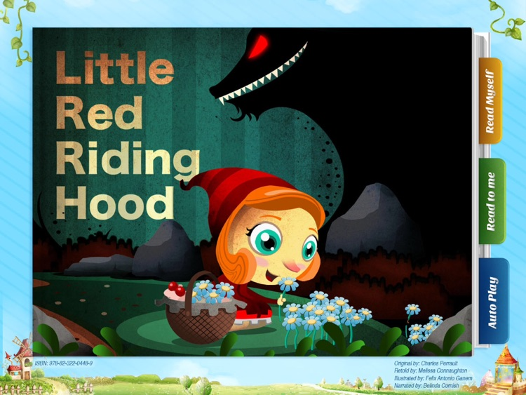 Little Red Riding Hood - Have fun with Pickatale while learning how to read!