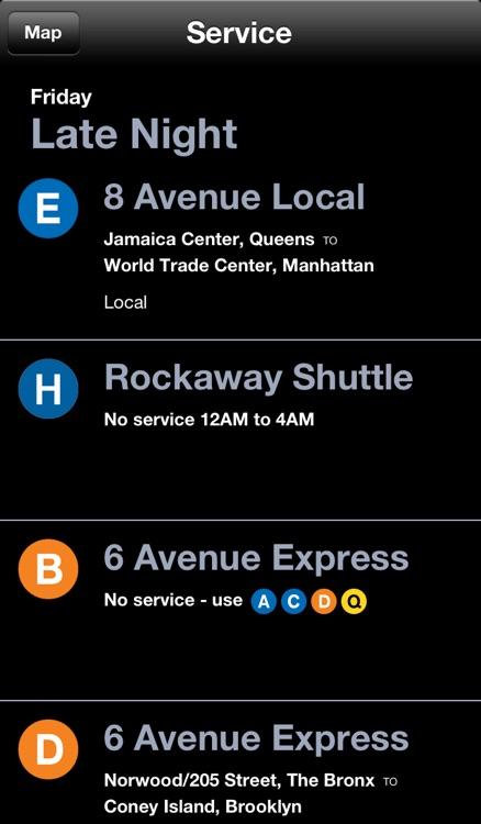 New York Subway Map by Dayou screenshot-3