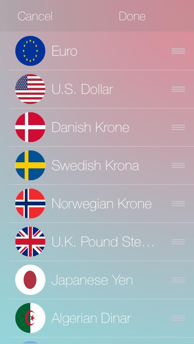 通貨のコンバーター iOS 8 | 日本人のスクリーンショット3
