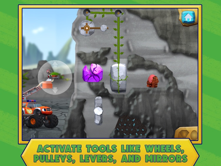 Blaze and the Monster Machines Dinosaur Rescue HD screenshot-3
