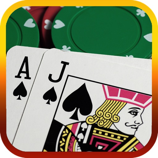 21 Blackjack Game - Hit Lucky Card to Win icon