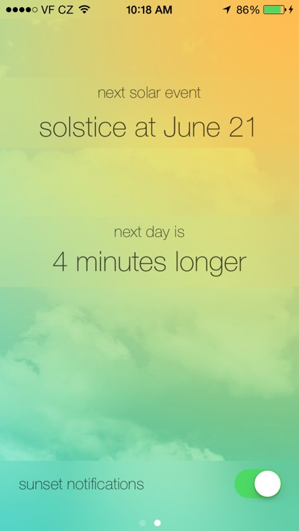 Sunlight Countdown - Sunrise & Sunset timer with notifications