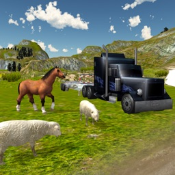 Farm Animal Transport Truck Simulator 3D