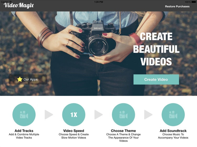 VideoMagix HD - Video Effects and Movie Editor
