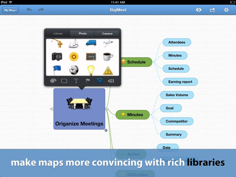 BigMind - Mind Mapping screenshot-4
