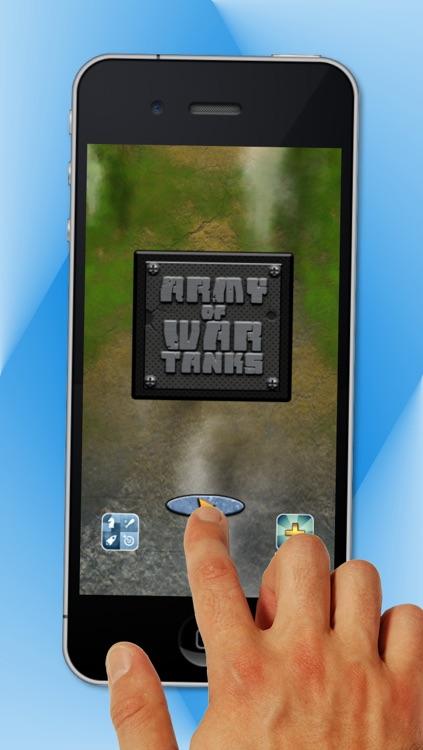 Army of War Tanks - Free Action Battle Game screenshot-4