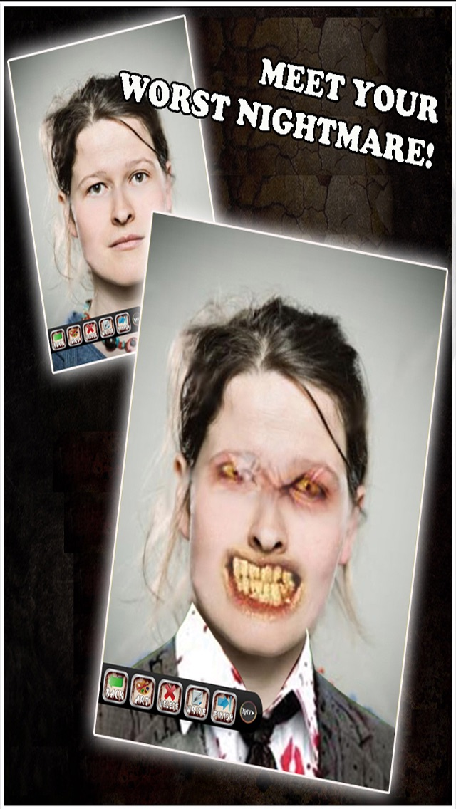 Zombie Booth - Transform Into A Zombie screenshot two