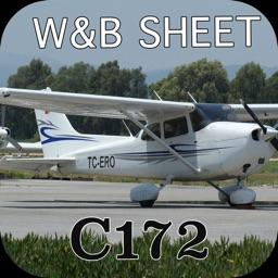 C172 Weight and Balance Calculator