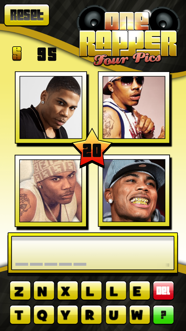 1 Rapper 4 Pics - Hip Hop Trivia Games screenshot two
