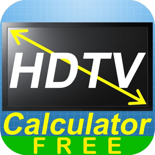 HDTV Calculator Free