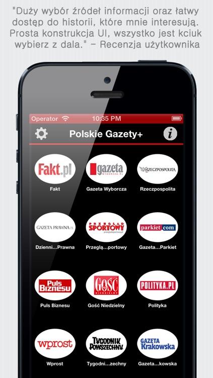 Polskie Gazety+ (Polish Newspapers+ by sunflowerapps) screenshot-4