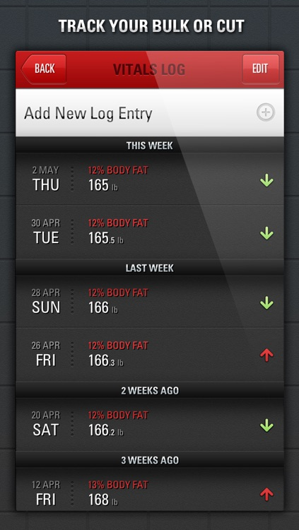 Gym Genius - Workout Tracker:  Log Your Fitness, Exercise & Bodybuilding Routines screenshot-4