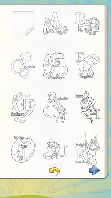 Alphabet Coloring Book! screenshot-4
