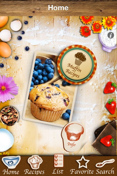Muffins & Cupcakes - The Best Baking Recipes screenshot-4