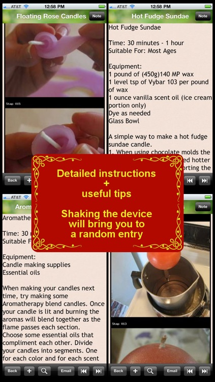 120 Candle Making Recipes
