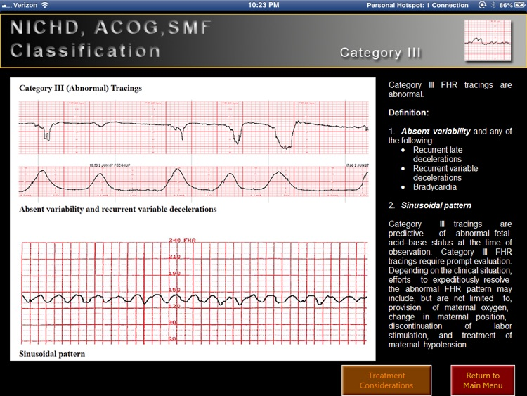 Electronic Fetal Heart Rate Monitoring screenshot-3