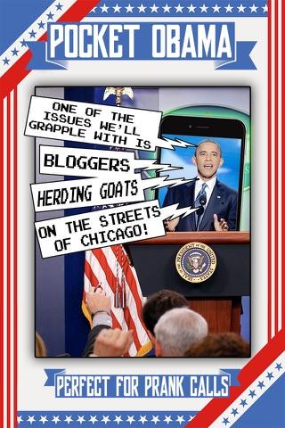 Pocket Obama: Soundboard of the 44th President! screenshot 2
