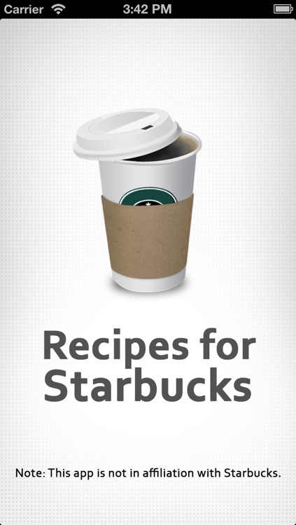 Recipe For Starbucks Drinks