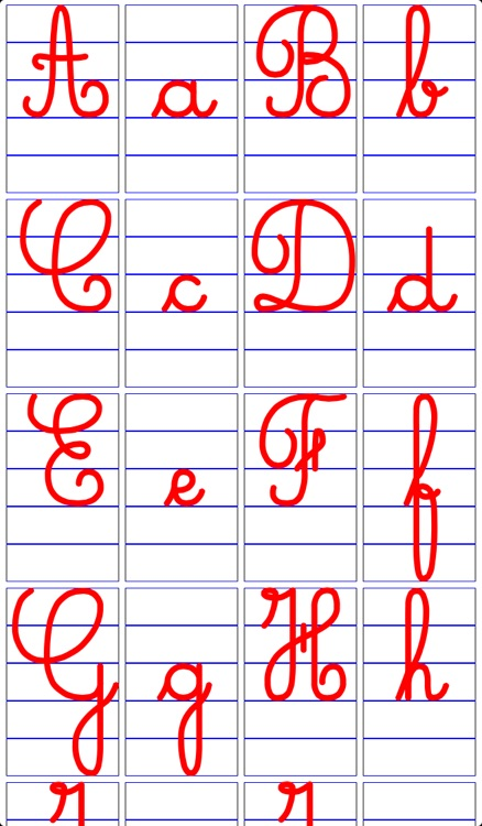 cursive letters for iphone write the letters of the cursive alphabet for iphone and 10283