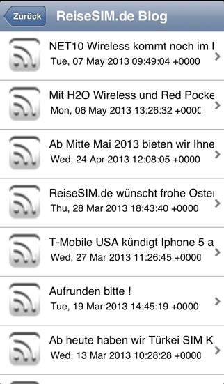 ReiseSIM.deScreenshot von 3