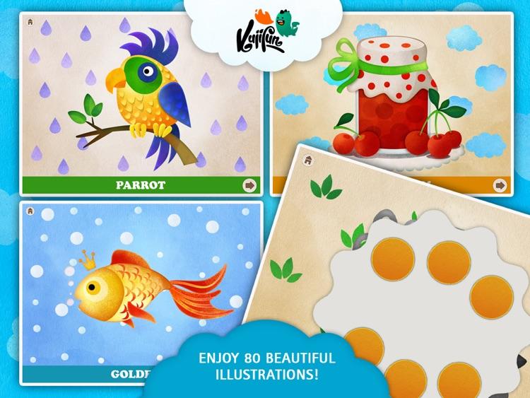 Fingerfun HD Multilingual - Kids Motor Skills Development, Preschool Educational Game for Toddlers