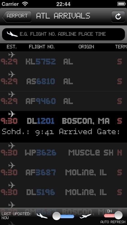 US Airport - iPlane2 Flight Information screenshot-4