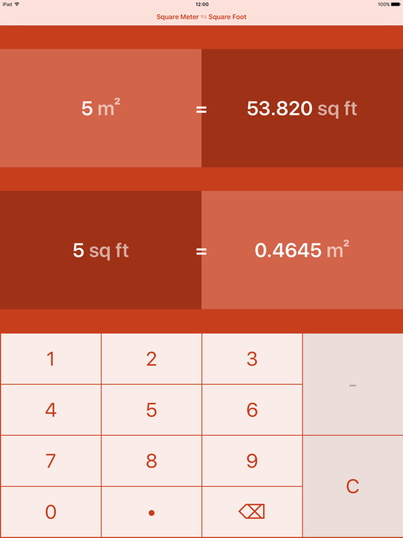 Square Meters To Square Feet M To Ft App Price Drops