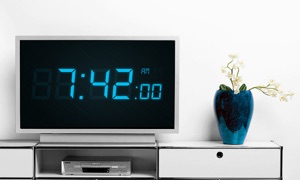 Digital Timepiece – A Beautiful Retro Future LED Clock
