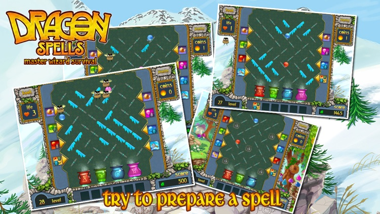 """Dragon Spells Master Wizard Survival Multiplayer by """"Fun Free Kids Games"""" for iPhone, iPad and iPod Touch screenshot-3"""