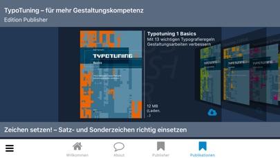 Publisher-Kiosk Screenshot on iOS