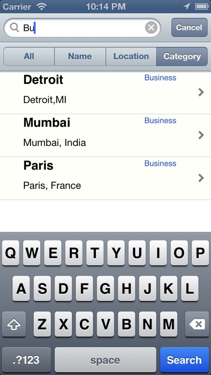 Locations List for Google Maps screenshot-2