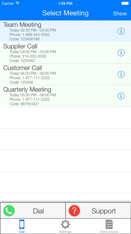 Dial My Meeting