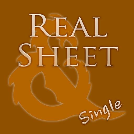 Real Sheet: D&D 3.5 Edition + Dice Table iOS App