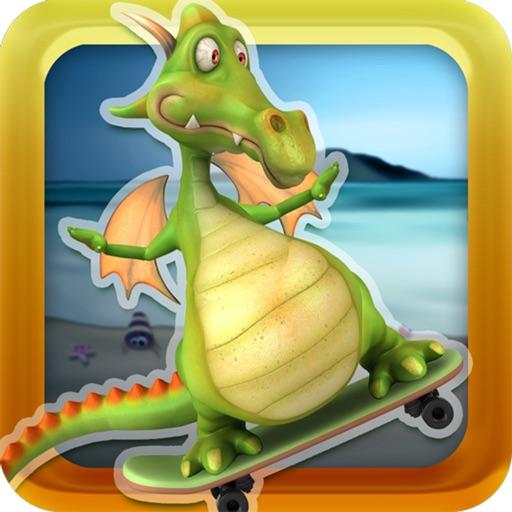 A Flying Dragon Skateboard : World Level Race Adventure Game - Full Version