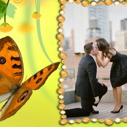 Butterfly Photo Frames - Instant Frame Maker & Photo Editor