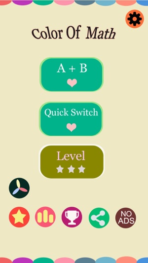 Color of Math - Quickly math answer games on the App Store