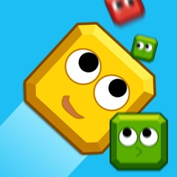 block.io-little yellow block smash others to make self bigger