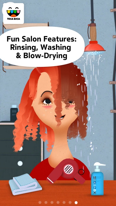 Toca Hair Salon 2 app image