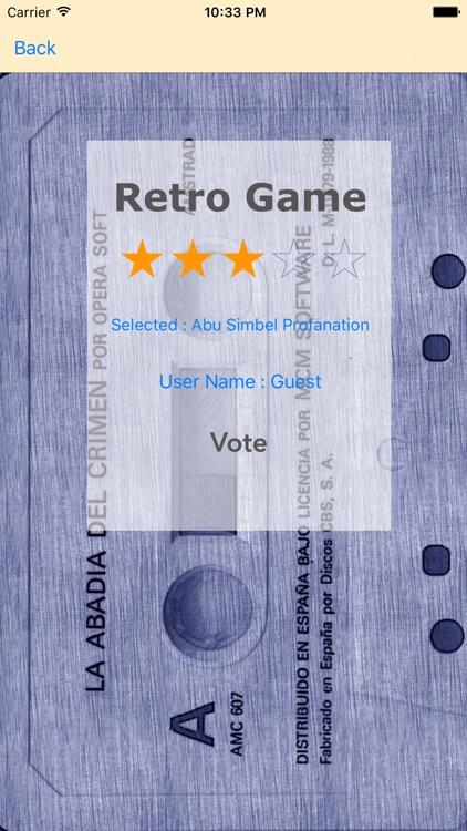 Retro Game Amstrad screenshot-4