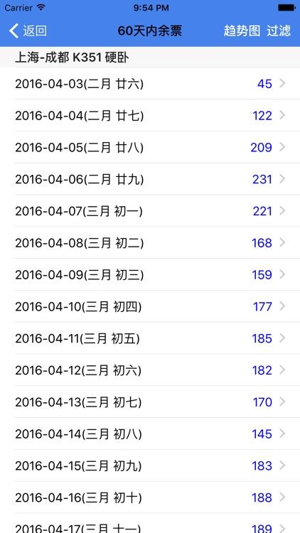 查火车票 screenshot-2