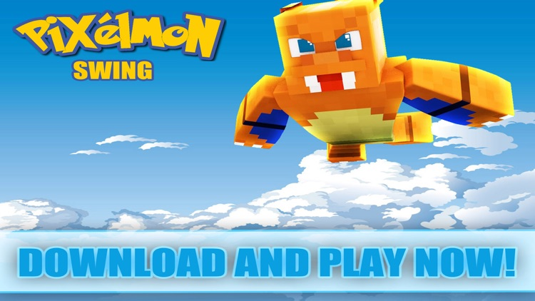 Pixelmon Swing - Poke Rope and Fly Escape Go Adventure Free Game