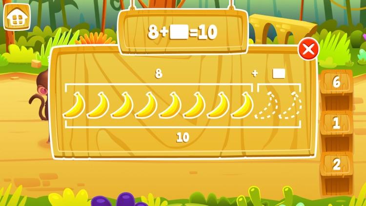 Math Jungle : Kindergarten Math screenshot-4
