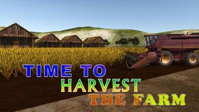 simulador de granja cosechadora - Cría de conducir el tractor y camión juego de simuladorCaptura de pantalla de4