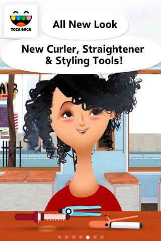 Toca Hair Salon 2 screenshot 1