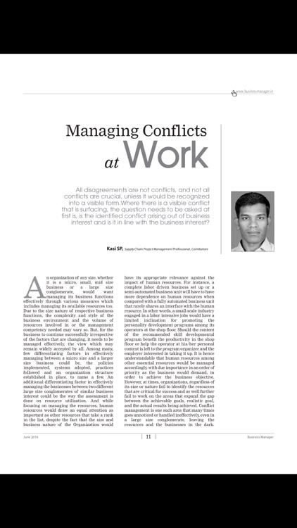 Business Manager Magazine