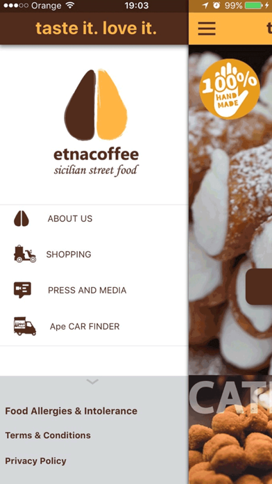 Etnacoffee UK screenshot two