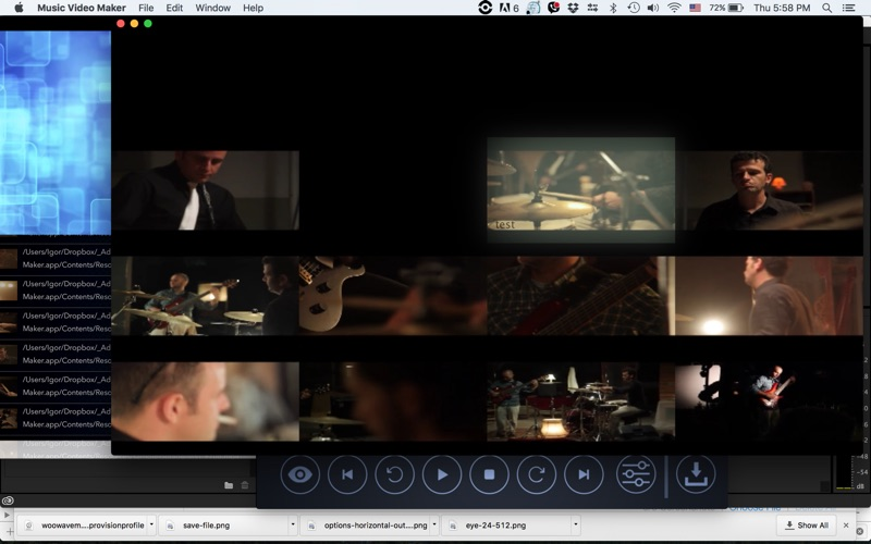 Musician Video Maker Pro
